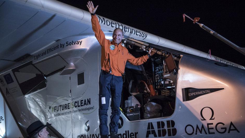 Letoun na solární pohon Solar Impulse 2
