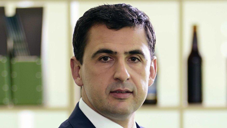 Nikolay Mladenov, generální ředitel společnost HEINEKEN Česká republika