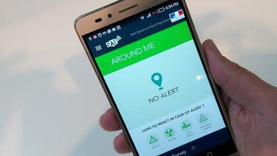Aplikace SAIP vznikla s podporou francouzské vlády