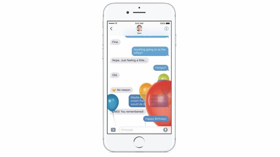 iOS 10 na iPhonu 7
