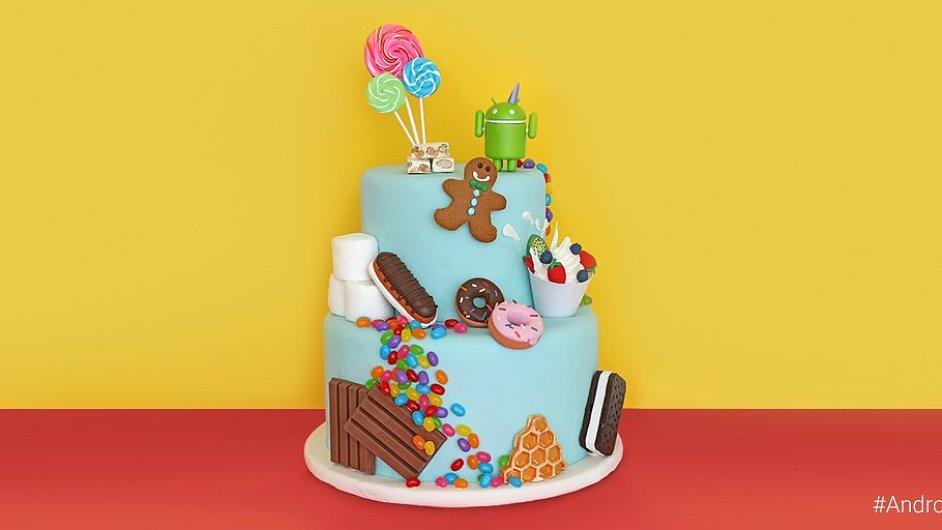 Dort k oslavě osmi let Androidu