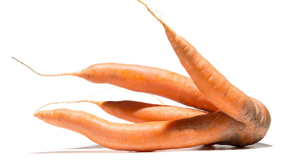 Mutato, nestandardní mrkev