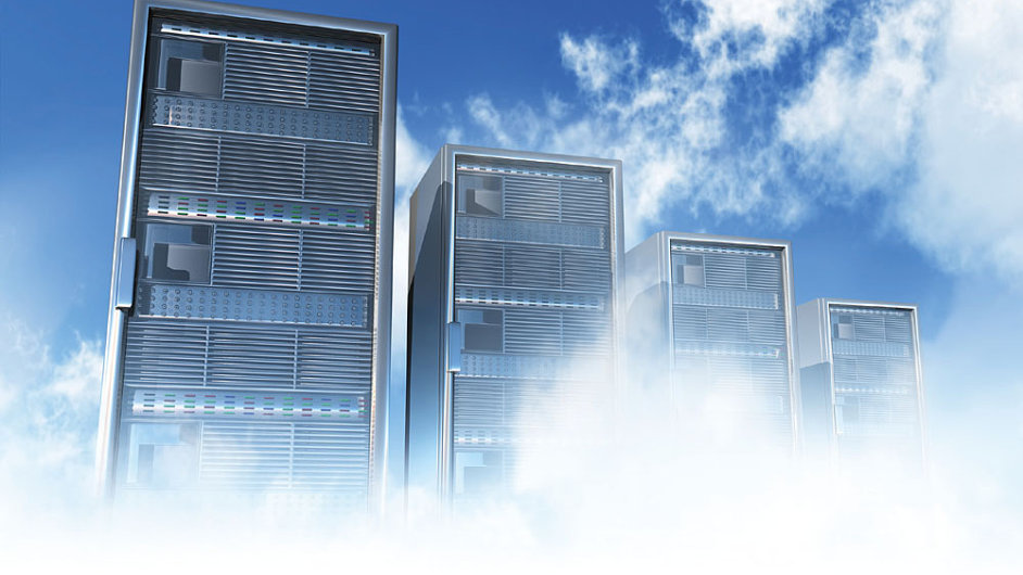 Datová centra a cloud - ilustrační foto.