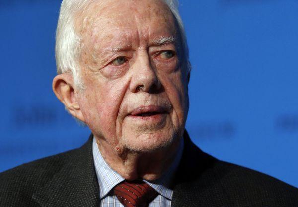 """Bývalý americký prezident James """"Jimmy"""" Carter oznámil, že onemocněl rakovinou. Podstoupí léčení v nemocnici v Atlantě."""