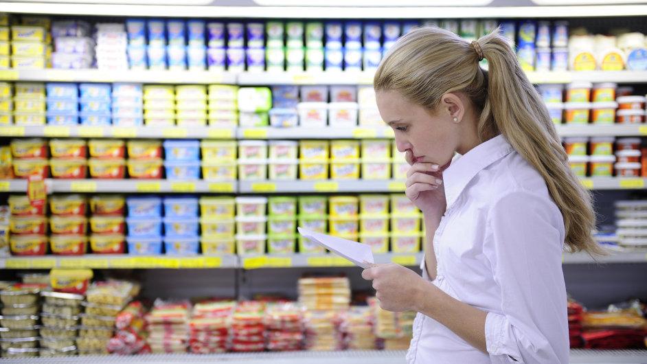 Ilustrační foto: Regály v Supermarketu