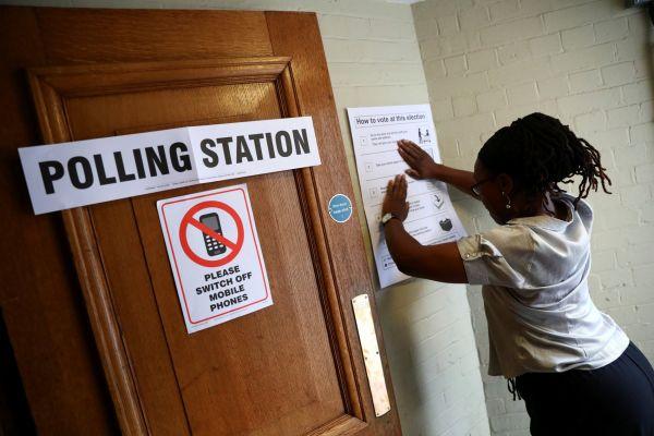 Velká Británie,  volby