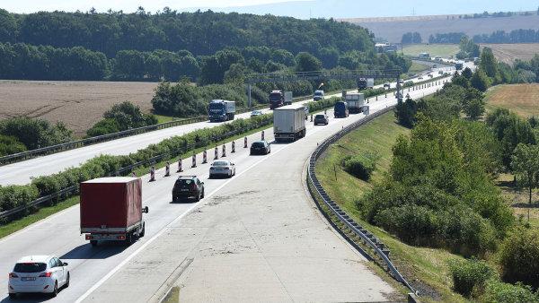 Česká dálnice, ilustrační foto