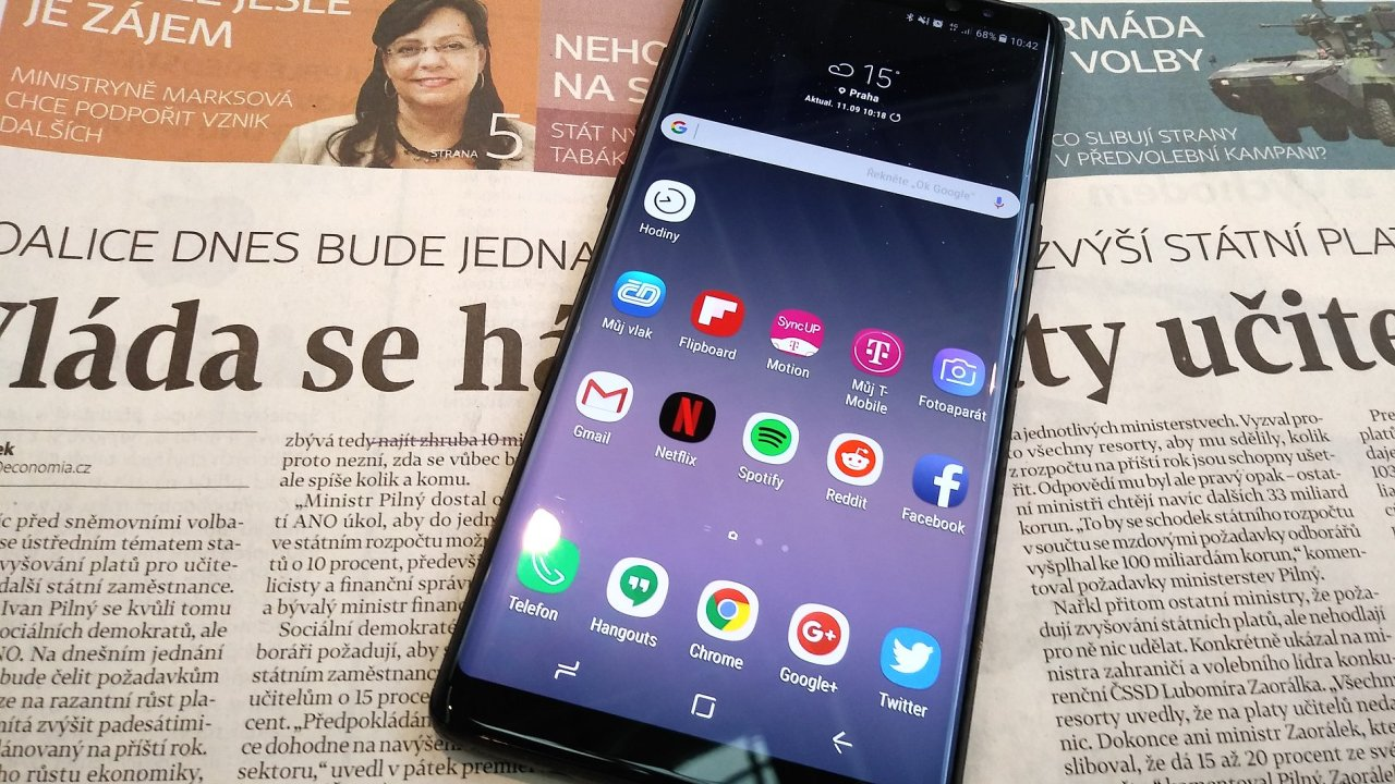 Samsung Galaxy Note 8 je reparát na jedničku