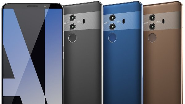 Mate 10 Pro má netradiční design zadní části telefonu