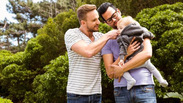 První homosexuální pár v Německu adoptoval dítě – Ilustrační foto.