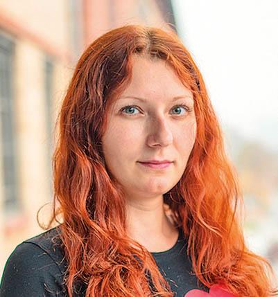 Hana Erskine, account manager, Etnetera Motion