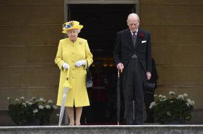 Britský královský pár slaví