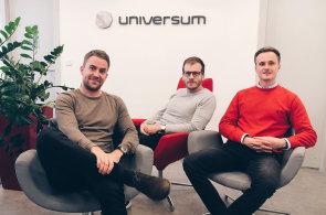 Dosavadní country manageři společnosti Universum v ČR: Tomáš Rašner, Adam Kožela a Jan Somol