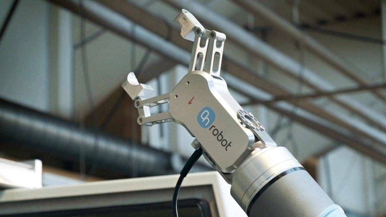 Osvald Jensen a duální gripper On Robot