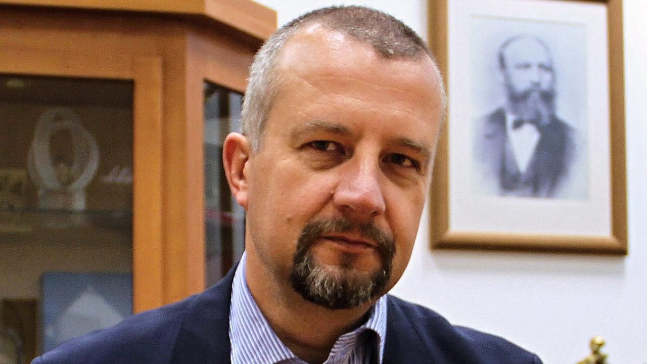 Petr Hendrych, obchodní ředitel společnosti TATRA TRUCKS