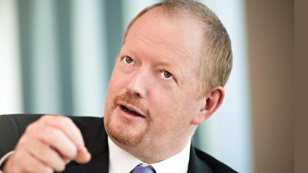 Richard Wilkinson, finanční ředitel společnosti CTP