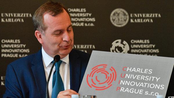 Univerzita Karlova má novou dceřinou společnost s ručením omezeným.