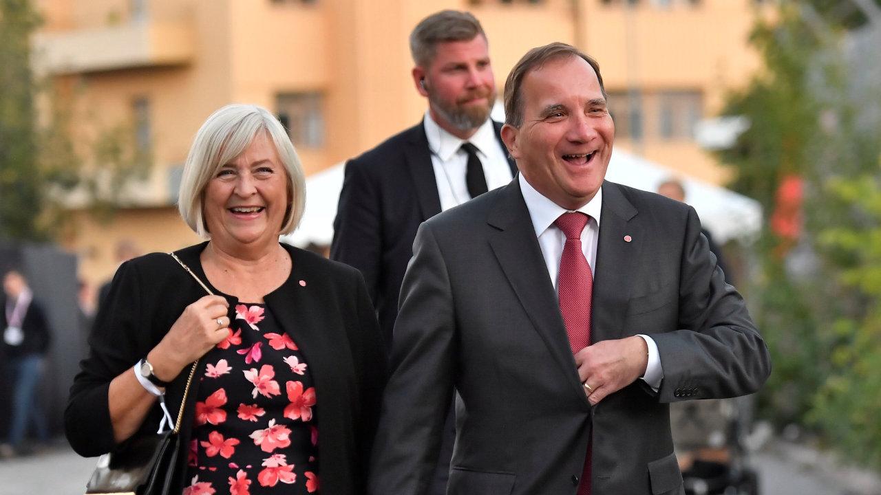 Švédské volby vyhrála znovu Sociálnědemokratická strana.