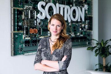 Obchodní ředitelka společnosti Soitron pro český a slovenský trh Slávka Šikurová