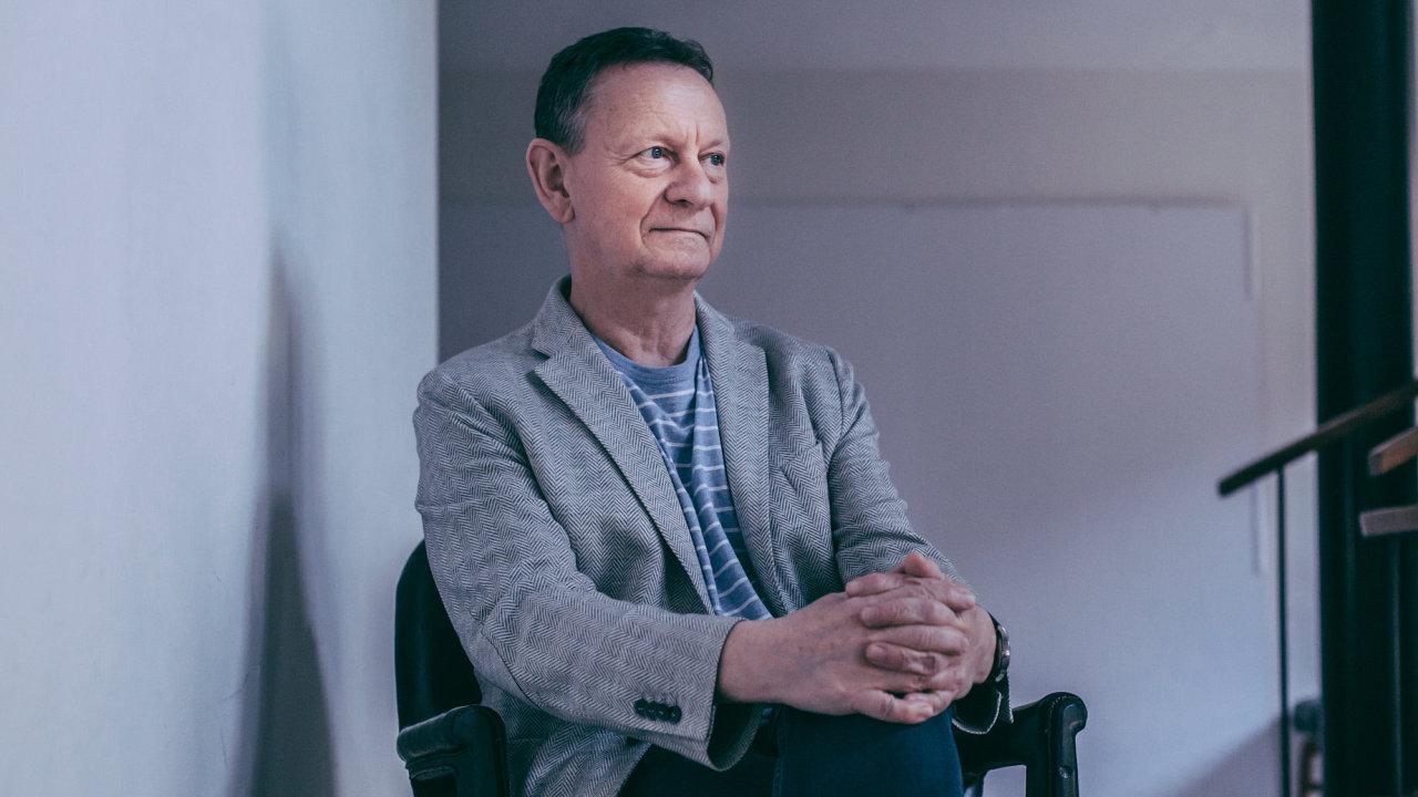 Psycholog a teoretik umění Jiří Šípek