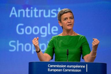Dánská eurokomisařka Margrethe Vestagerová proslula svým tažením proti technologickým gigantům.