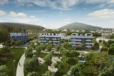 Projekt Berounské brány je komerčně úspěšný, lidé na bydlení ve Středočeském kraji slyší.