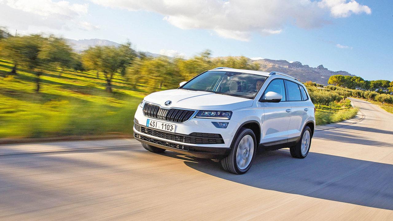Škoda Karoq, vítěz ankety Auto roku 2018 v České republice sbírá řadu ocenění i v zahraničí.