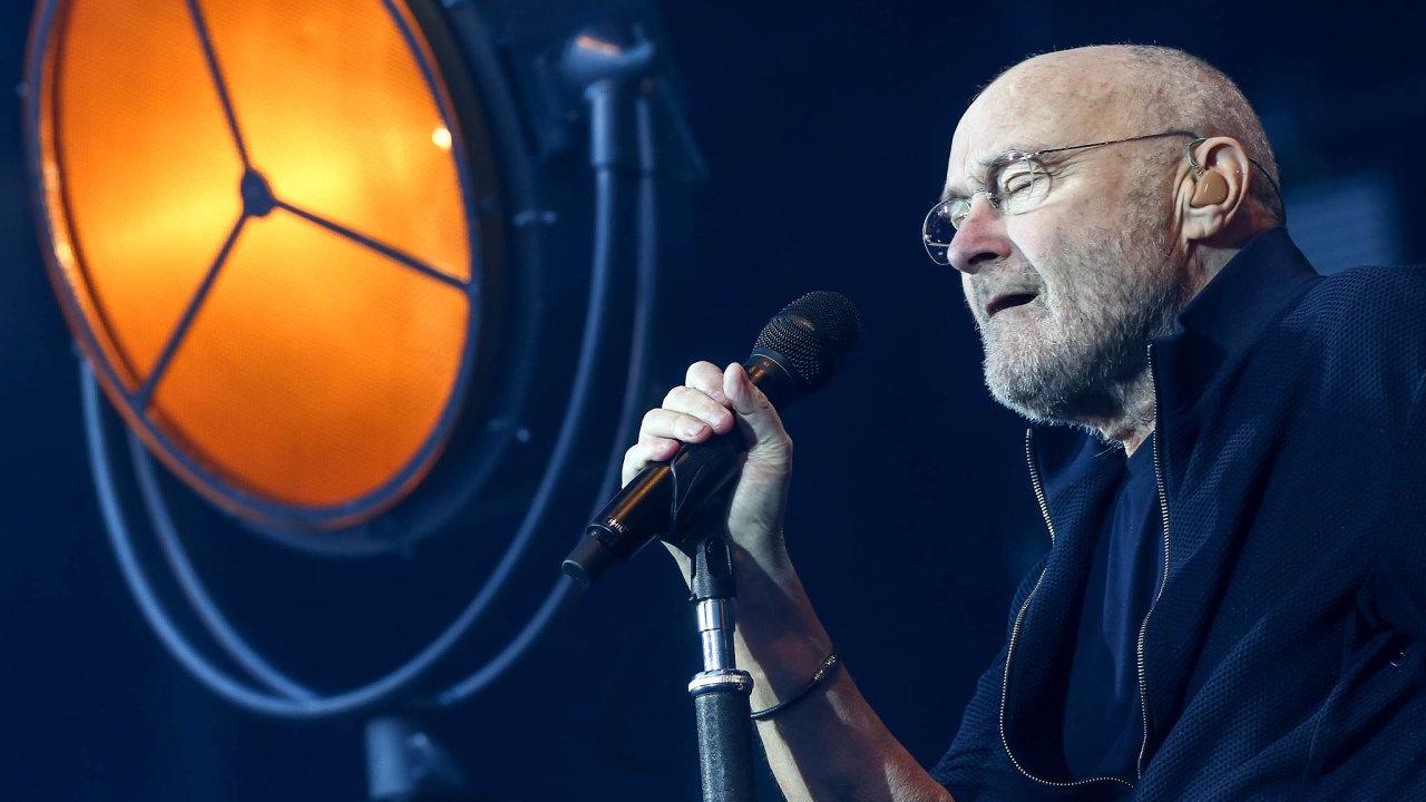 Phil Collins mezi roky 1981 a2010 sólově vydal osm alb, každé se čtyřmi až šesti hity. Některé teď připomene vPraze.