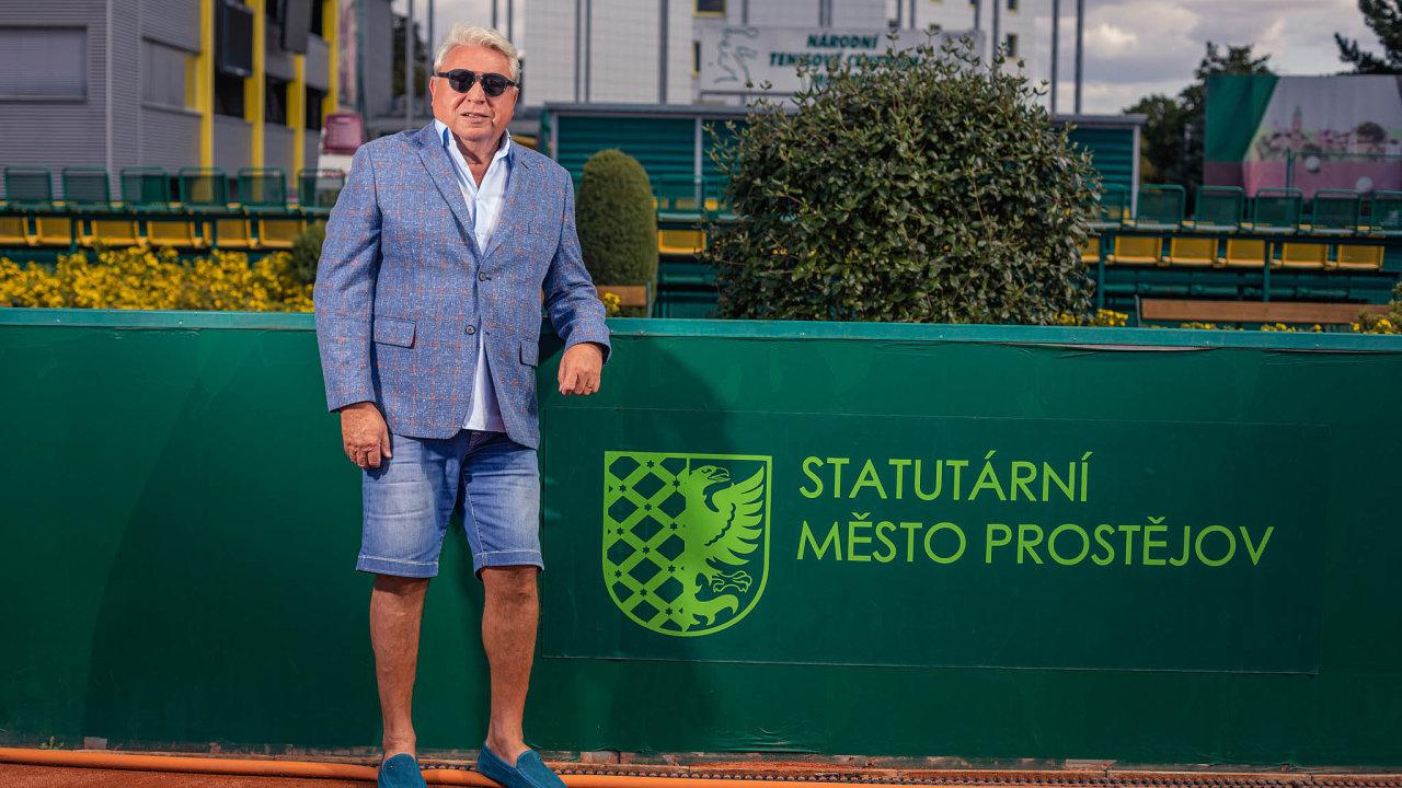 Sportovní boss Miroslav Černošek