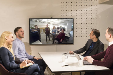 Podle průzkumu Lifesize jsou video schůzky efektivnější než klasické porady, ilustrační foto