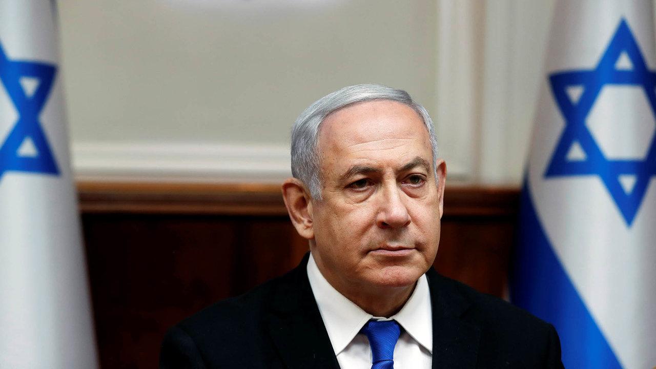 Izraelský poraženýBenjamin Netanjahu