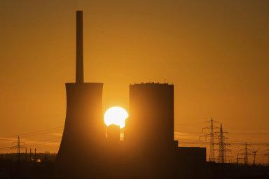 Německá uhelná elektrárna v Mehrumu. Ilustrační fotografie