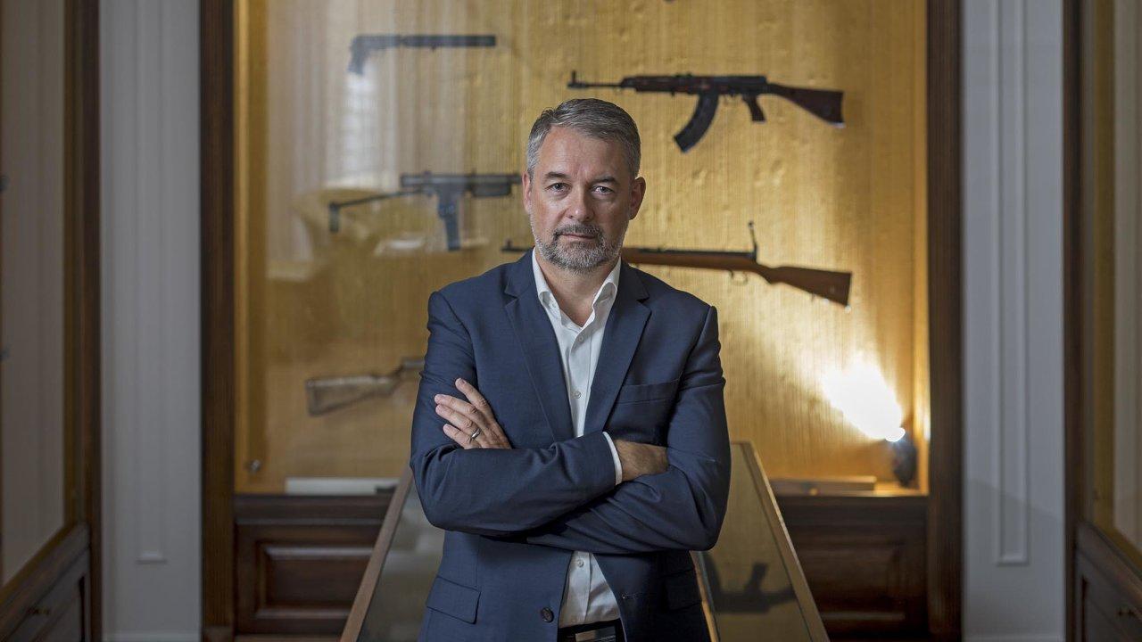 Lubomír Kovařík, prezident skupiny CZG– Česká zbrojovka, byl dříve armádním pilotem.