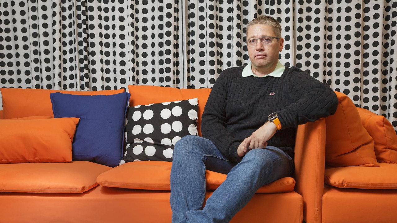 Ozaměstnance se postaráme zvlastního, říká finanční ředitel Ikey Jan Váchal.