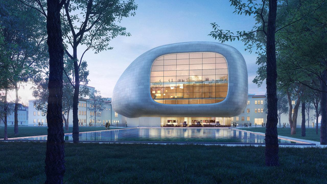 koncertní sál Ostrava vizualizace