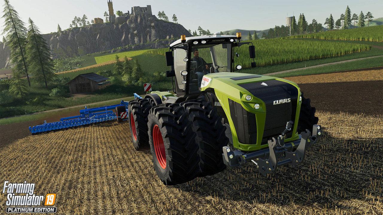 Farming Simulator.Švýcarské herní studio Giants prodalo celkově už 25 milionů kopií svých her pro virtuální farmáře.