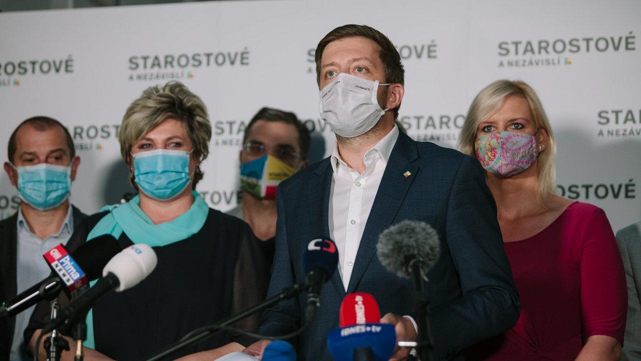 Podle předsedy hnutí Víta Rakušana krajské volby ukázaly, že spolupráce politických stran má smysl.