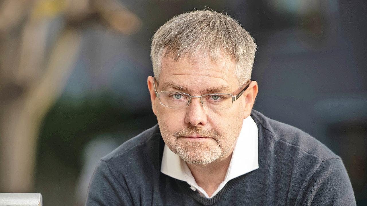 Jan Coufalík, ředitel společnosti Sabris Solutions