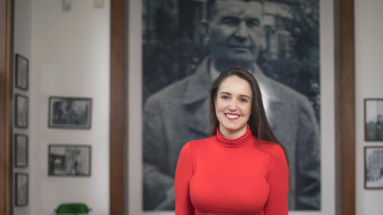 Gabriela Končitíková říká, že se Baťovým myšlením inspiruje ivevlastním životě.
