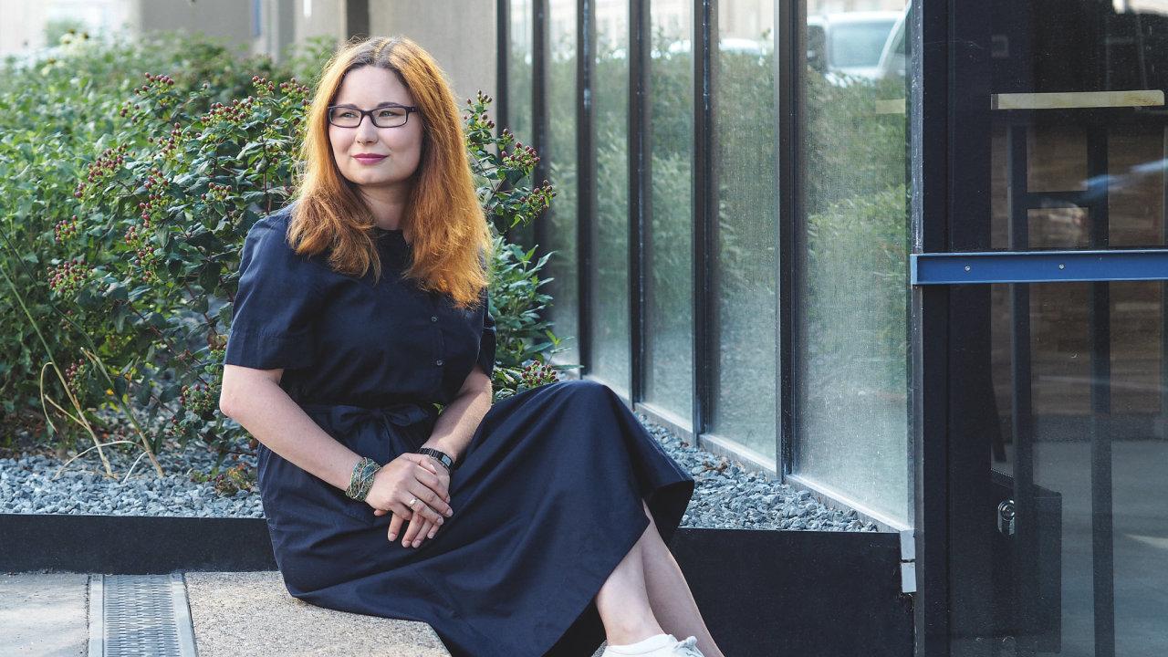 Marie Salomonová, neurovědkyně a spoluzakladatelka neziskové organizace Nevypusť duši.