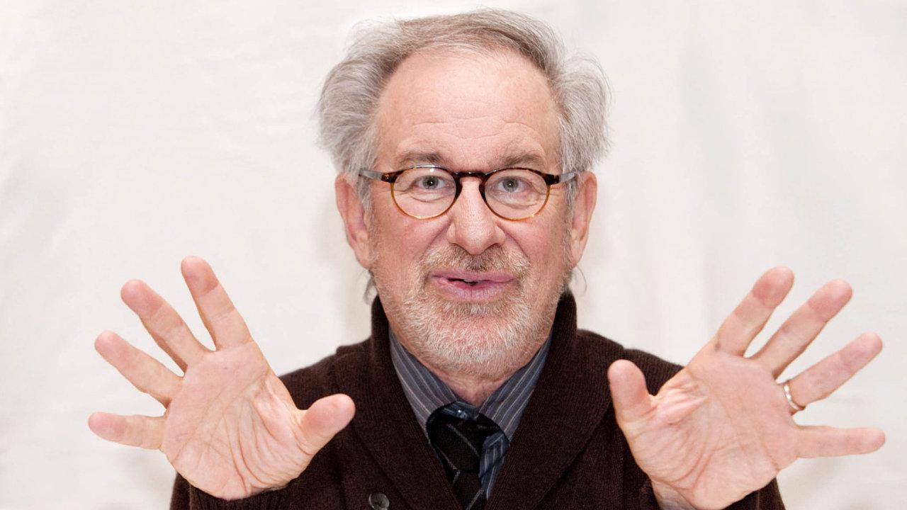 Oscarový režisér Steven Spielberg.