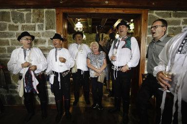 Slavnosti bratrství Čechů a Slováků: Připomínku společné minulosti obou národů narušila silná bouře