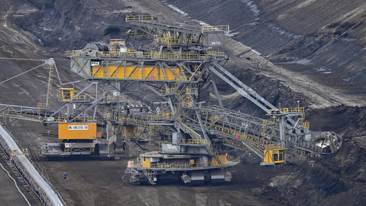 Německo, důl, Lužice