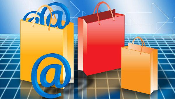 Ilustra�n� foto - nakupov�n� on-line