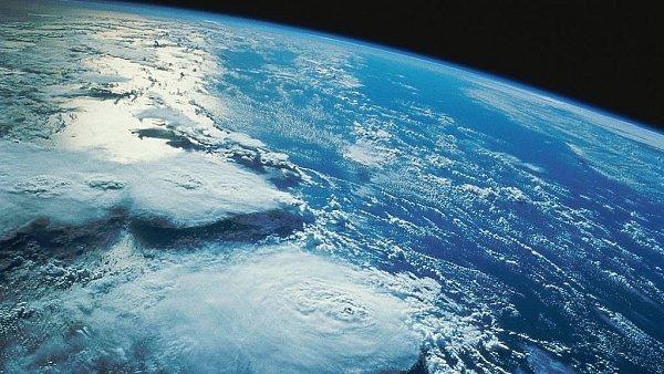 Pohled na Zemi z vesmíru, ilustrační foto