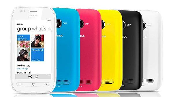 Nokia Lumia 710 - střední třída telefonů se systémem Windows Phone