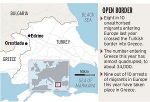 Plot proti imigrantům - mapa oblasti