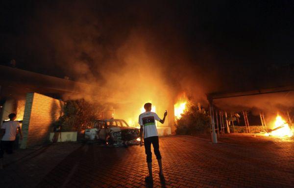 Útok na americký konzulát v Libyi