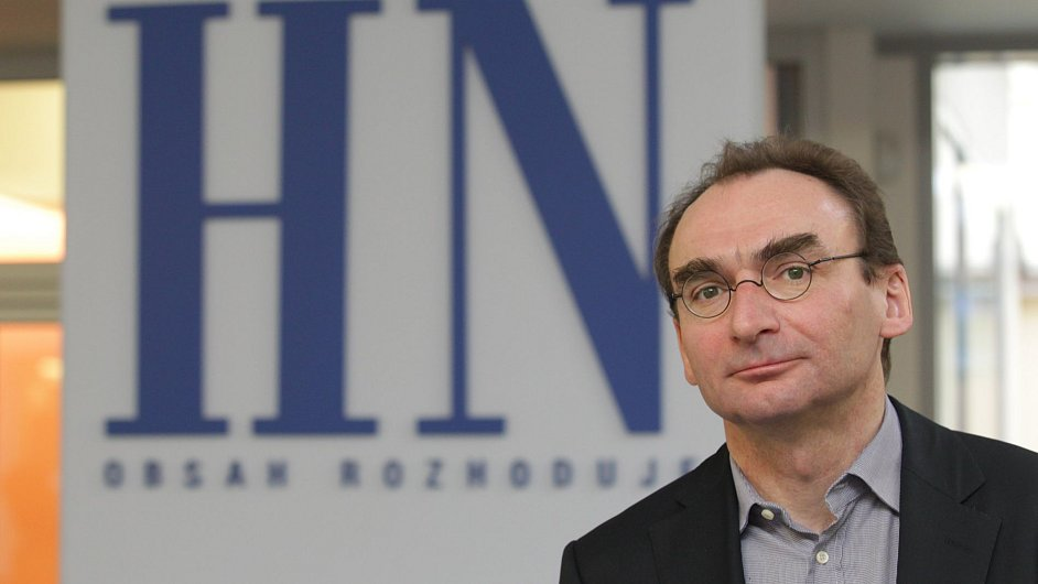 Šéfredaktor HN Petr Šabata