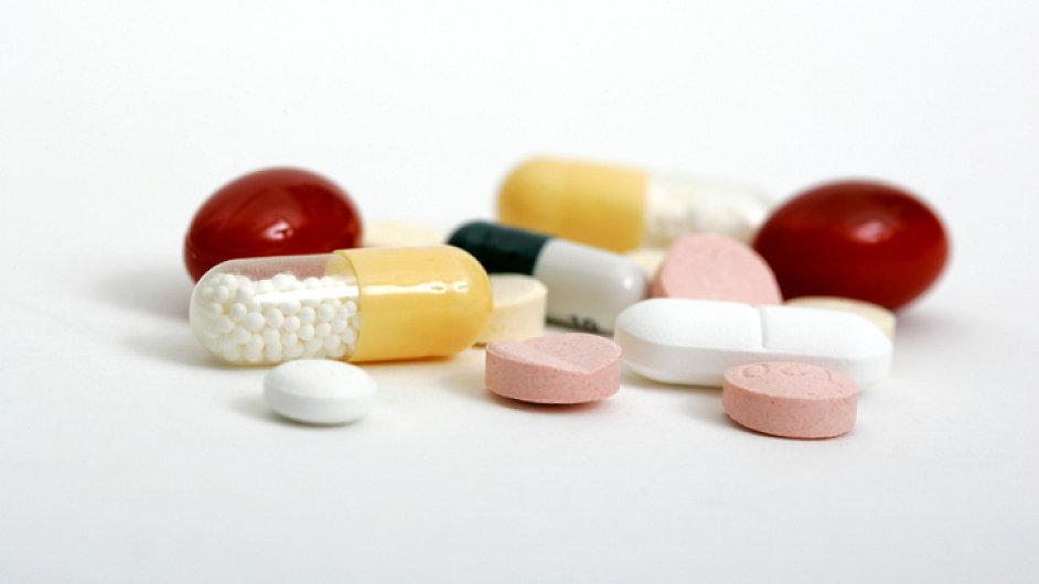Léky - Ilustrační foto.